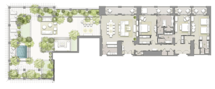 Rosewood Penthouse Suite