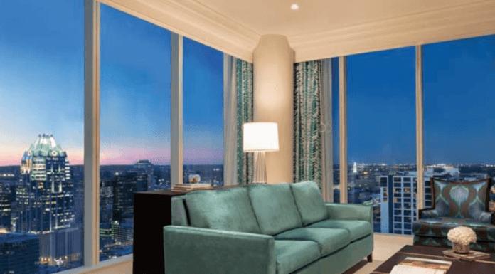 Fairmont Austin Hotel Suite