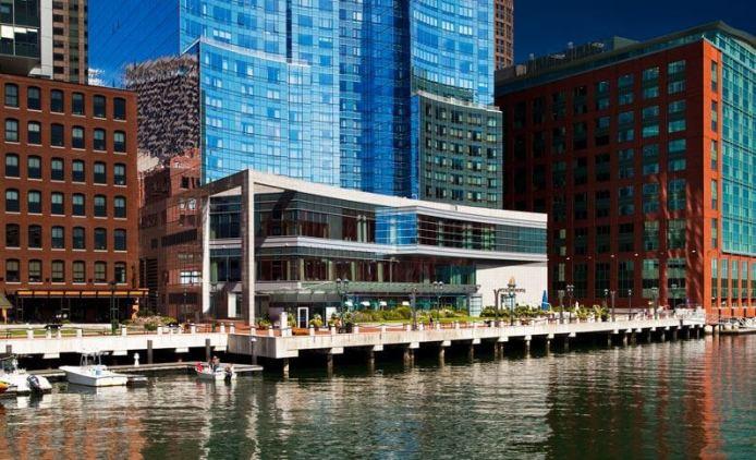 InternContinental Boston Hotel Suite