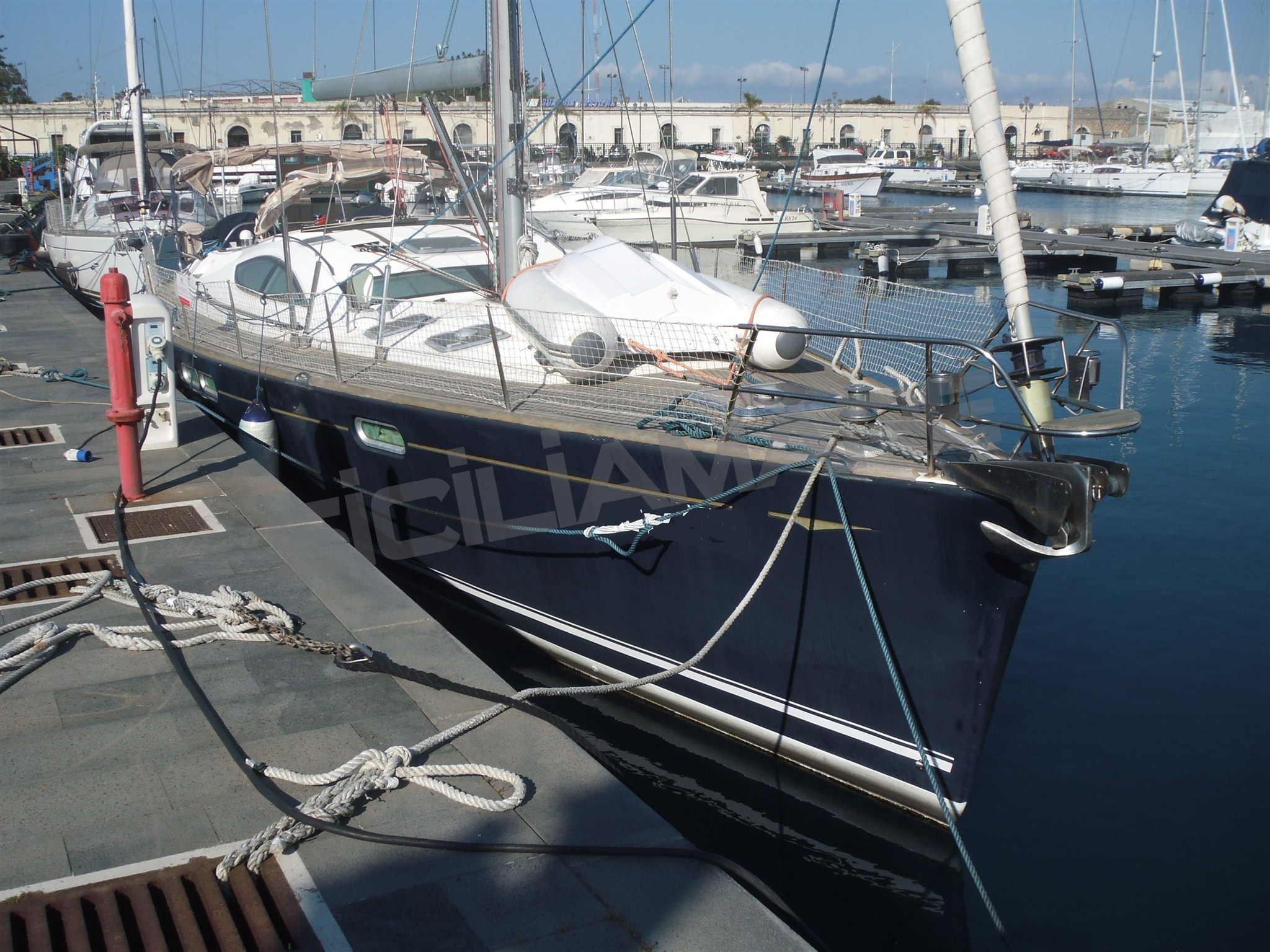 Jeanneau Sun Odyssey 54 Ds Preowned Sailboat For Sale In