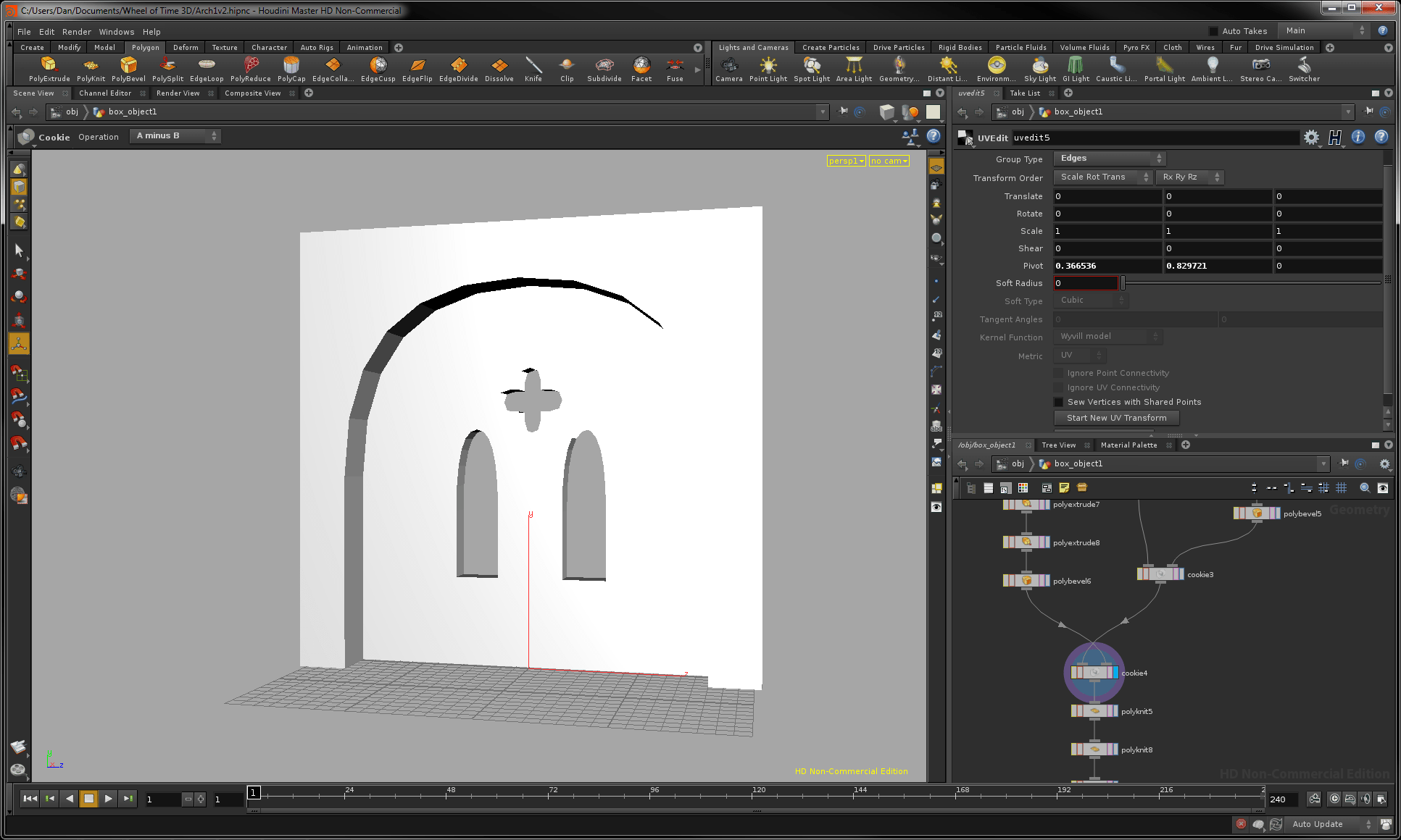 Overall, This Model Is Quite Similar To The Double Doors So, With The Same  Idea In Mind, If I Do Not Add Physical Modelled Pillars To Either Side Of  The