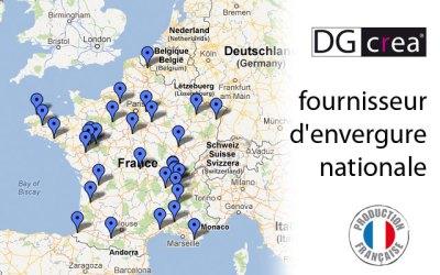 DG CREA, fournisseur d'envergure nationale
