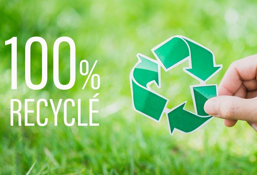 DG CREA – Vos chromos en polypro 100% recyclé