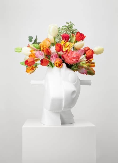 Split-Rocker Vase by Jeff Koons