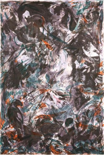 The Crow and Kitten by Cecily Brown
