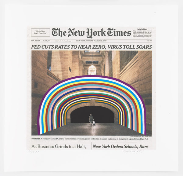Monday, March 16, 2020 by Fred Tomaselli