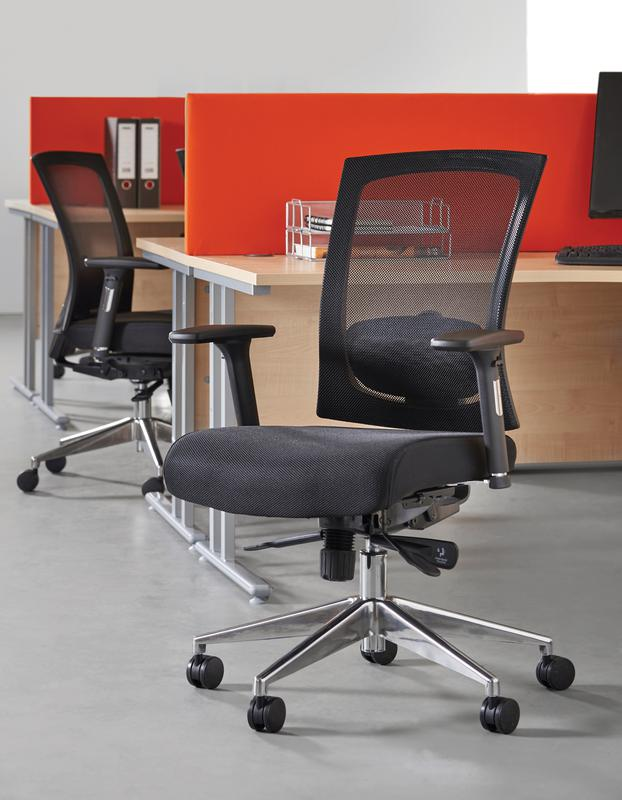 Office Chairs No Arms Gemini 300 Series Mesh Task Chair With No Arms Black