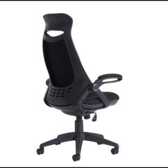 Ergonomic Chair With Head Support Tank Aalto Tuscan High Back Fabric Managers
