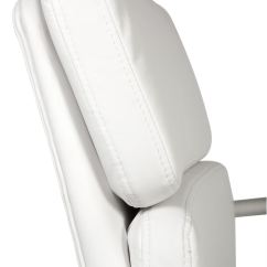 Office Chair Covers Uk Wicker Cushions Teknik Retro Style Cantilever White Faux Leather