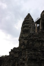 A testament to the ongoing construction at Angkor.