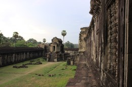 Side view of these expansive temples.