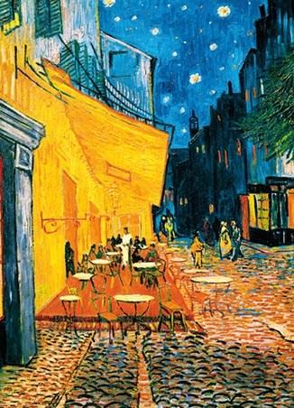 Terrasse de Caf la Nuit 4 Sheet Van Gogh Wall Mural Wall