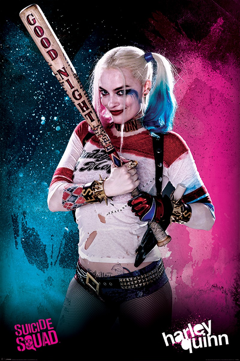 Harley Quinn Suicid Squad : harley, quinn, suicid, squad, Harley, Quinn,, Suicide, Squad, Poster, Online