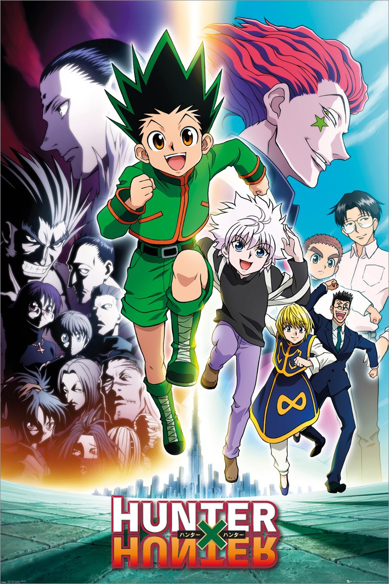 Hunter X Hunter Saison 8 : hunter, saison, Keyart, Running,, Hunter, Poster, Online