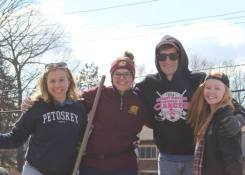 me, Jesi Ekonen-Parker, Justin, & Katie Rae