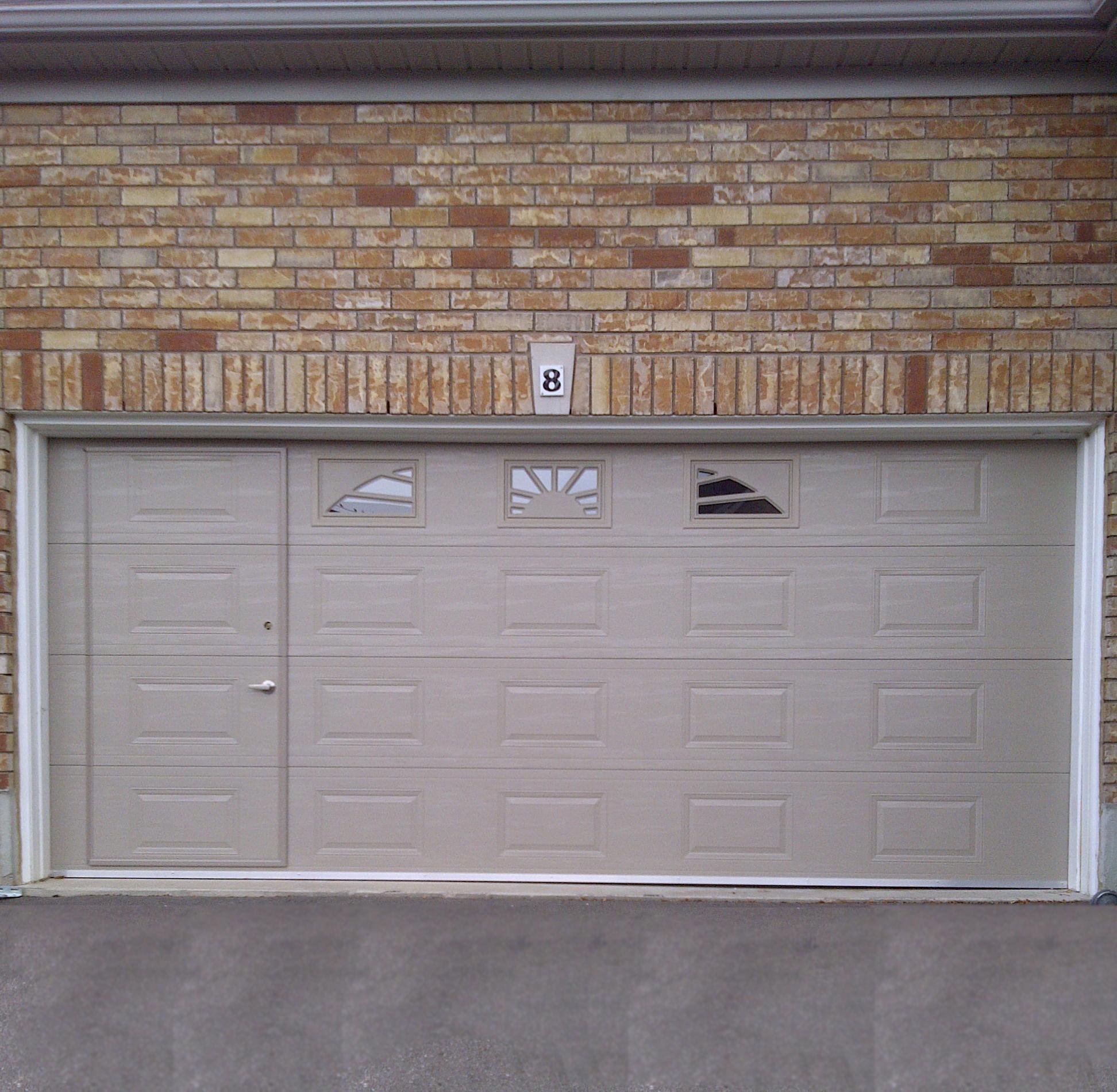 Pass Through Garage Door