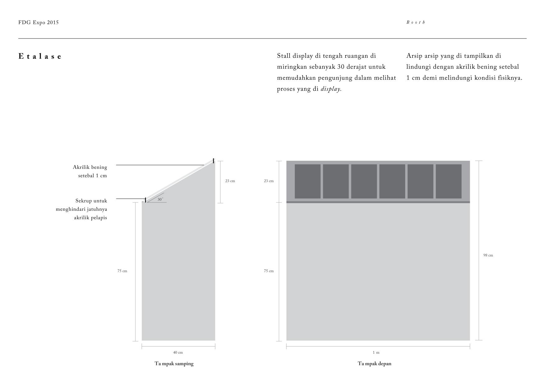 Rancangan Booth DGI