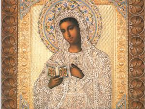 Lukisan-Madonna-Membaca-1903-Faberge