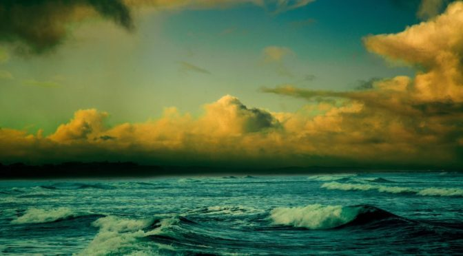 Ocean At Dusk