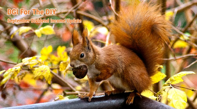 September Update: Squirreling Away 10% Higher Dividends