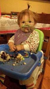 Eating Birthday Cake