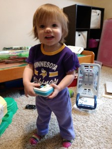 World's Cutest Vikings Fan