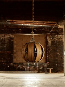 The Living Orb (warehouse installation)