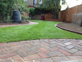 Garden landscaping in Reading