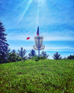 Sidehill Disc Golf Putting
