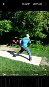 Using Coaches Eye for Disc Golf Analysis
