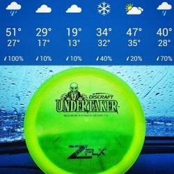 Discraft Z FLX Undertaker Cold