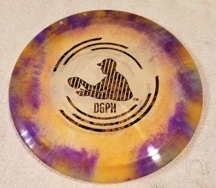 cool disc golf shaving cream dye