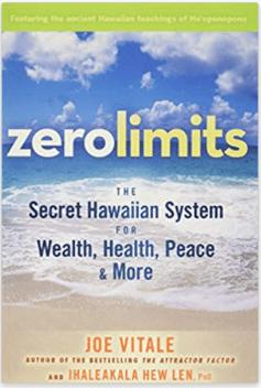 zero limits Joe Vitale hew len my 2020 reading list