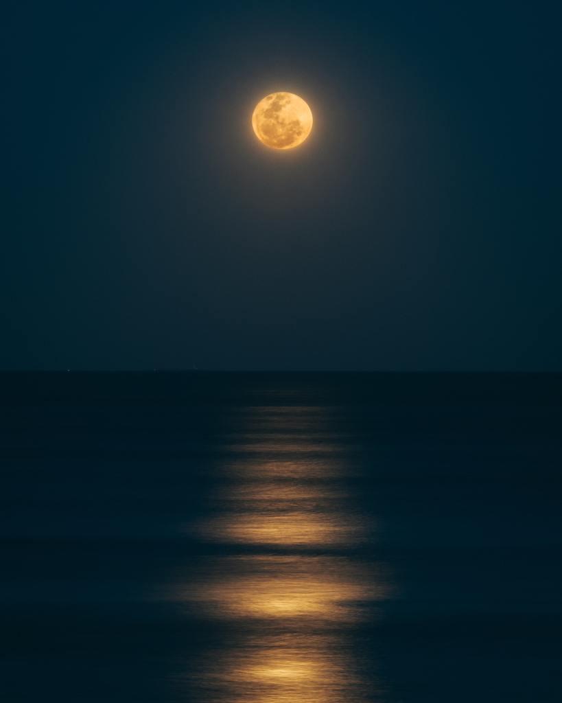 true love tide moon ocean