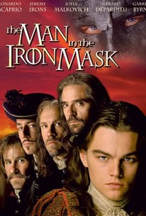man in the iron mask poster movie