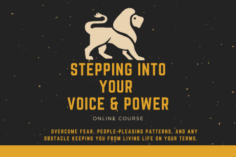 stepping into your power confidence building training course d grant smith