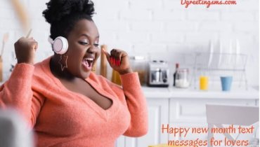 Happy New Month Text Message For Lovers
