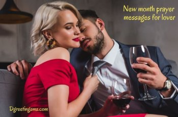 New Month Prayer Messages For Lover