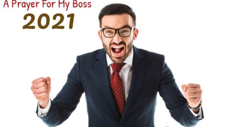 A Prayer For My Boss