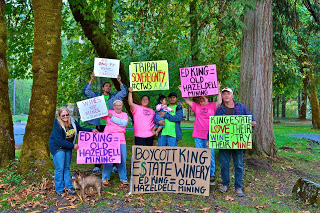 Indigenous resistance to mining in Oregon