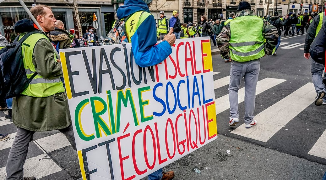 yellow vests gillet jaunes