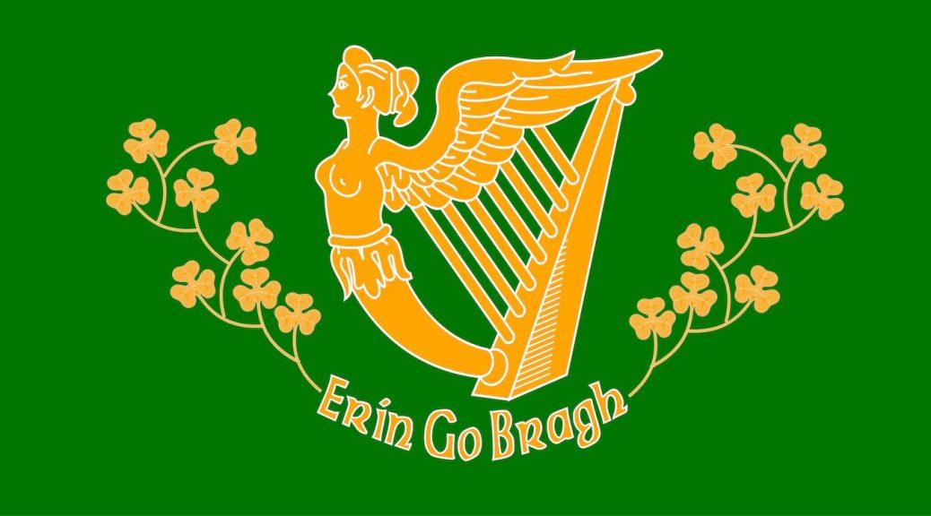 Saint Patrick's Battalion flag