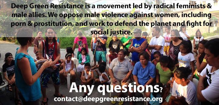 deep green resistance radical feminism
