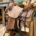 Burdett saddle