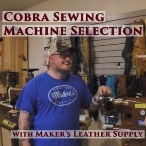 cobra sewing machine