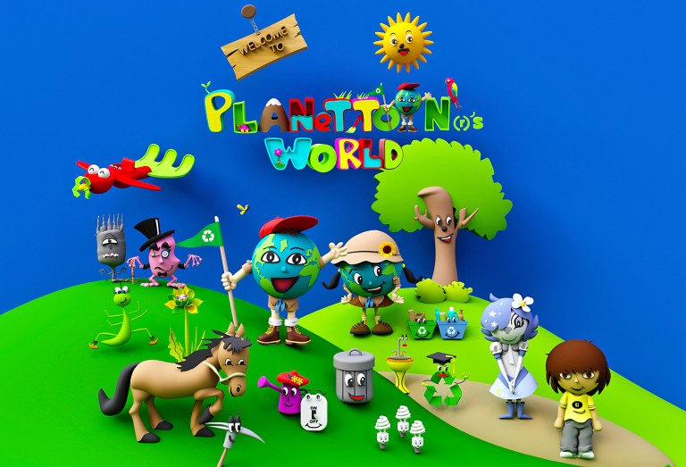 Precious Creative Co. Announces the Launch of PLANETTOON®'S WORLD This June at the Licensing Expo in Las Vegas