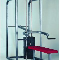 Gym Bench Press Chair Desk Back Cushion Pro Weight Machine 304 Dgs Sports