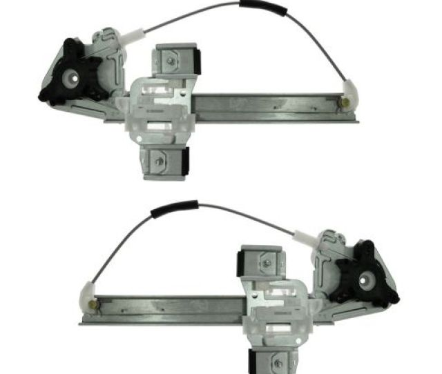 00 05 Pontiac Bonneville Rear Door Window Regulator W O Motor Pair