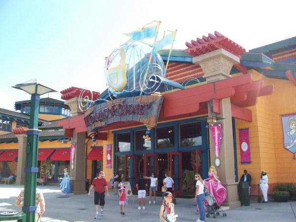 Downtown Disney Florida Store