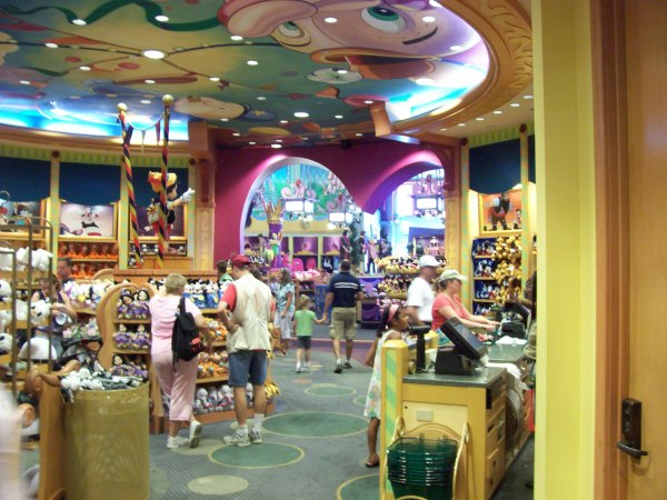 Downtown Disney Store